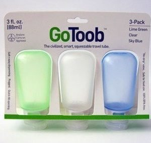 humangear GoToob 60 ml 3 Pack tuubi nesteille