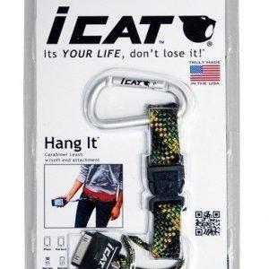 iCat Hang It Iphone pidike musta